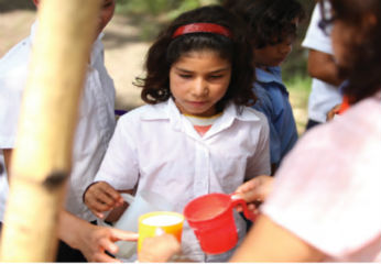 9-year-old Mili. (Courtesy: Stop Hunger Now)