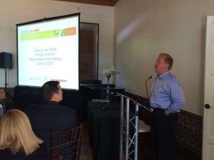 Tony Hall, Alliance to End Hunger, speaks at the Come to the Table Summit. (Courtesy: ProMedica).