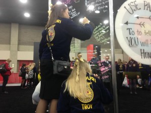Courtesy: National FFA Convention