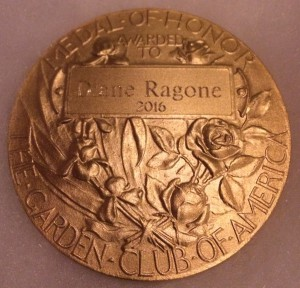 Medal presented to Dr. Ragone (Courtesy: NTBG)