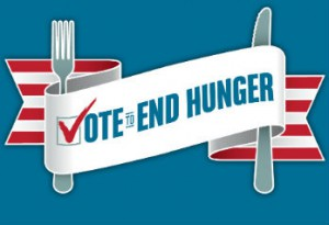 Vote to End Hunger website